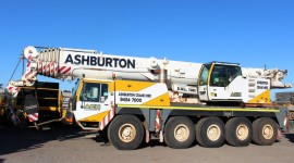 100 Ton Liebherr Crane Hire Perth