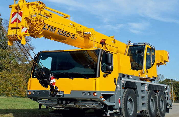 50t Liebherr Crane Hire Perth WA