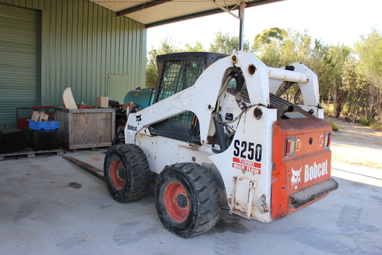 S250 Bobcat (Rear Shot)
