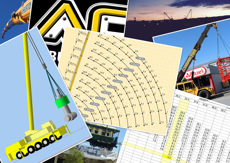 Crane lift plans Perth OH&S