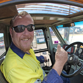 Perth crane hire company manager