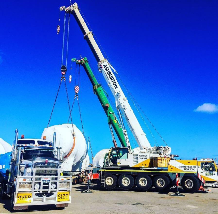 2 Crane Lift Australian Marine Complex Perth