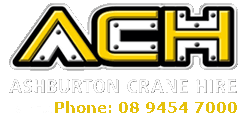 Ashburton Crane Hire Perth