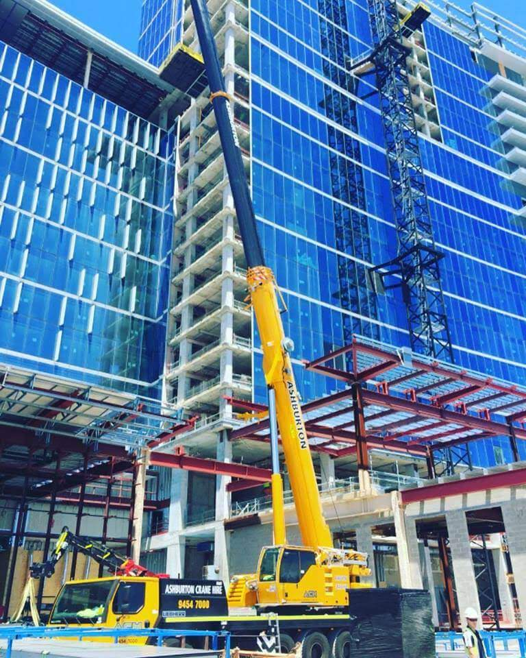 Crown Towers Hotel Construction Perth WA