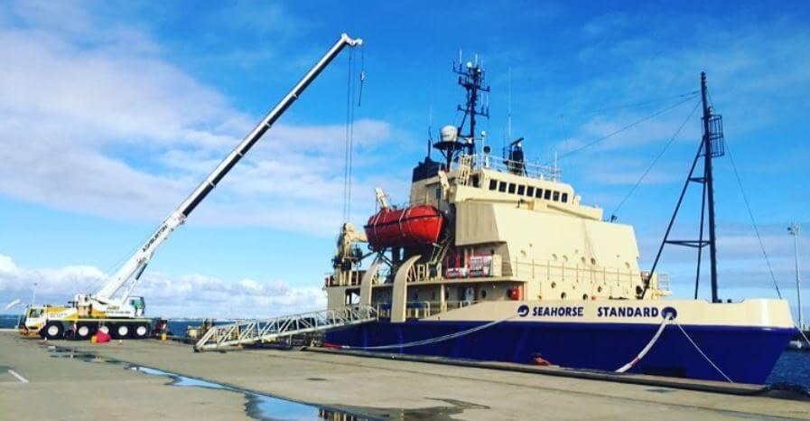 dock crane hire Fremantle
