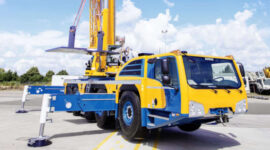 160T Crane Hire Perth, Small Heavy Lift Crane For Hire Perth