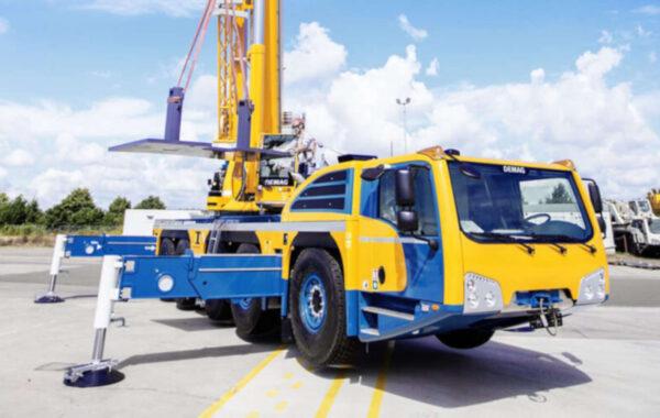 160T Crane Hire Perth, Small Heavy Lift Crane For Hire Perth