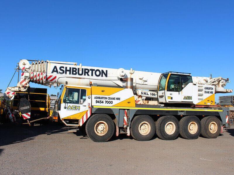 100 Ton Liebherr Crane Hire Perth - Ashburton Crane Hire