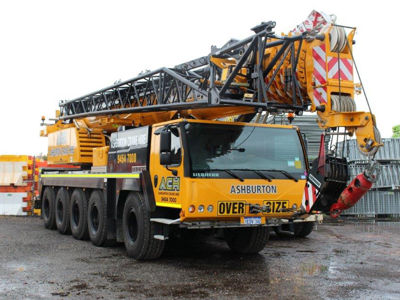 Mobile Cranes Types For Hire by Tonnage Lift Perth WA