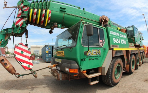 Long Reach Mobile Crane Hire Perth