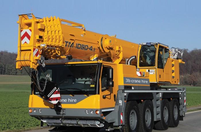 80t Liebherr Crane Hire Perth