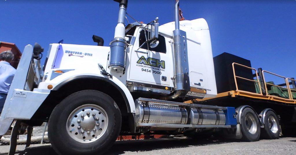 Heavy Haulage Road Transport Service Perth Western Australia