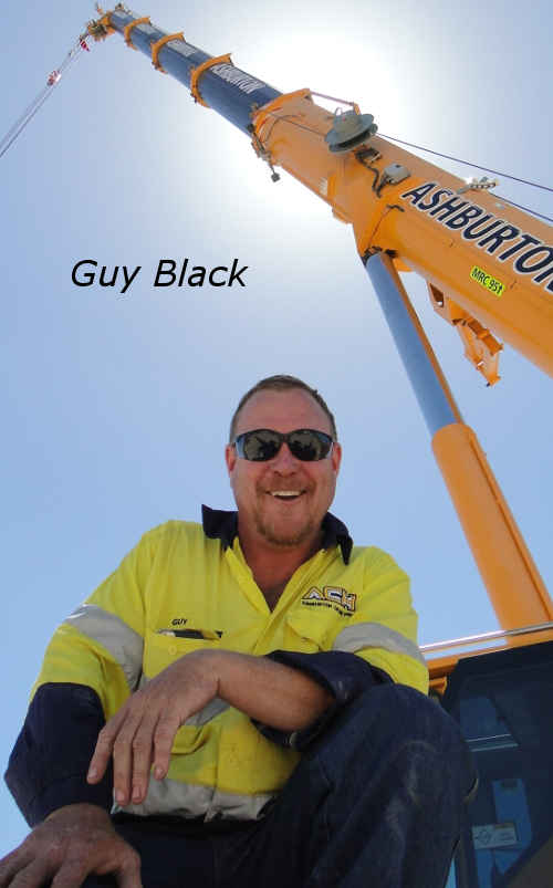 Guy Black crane hire Perth