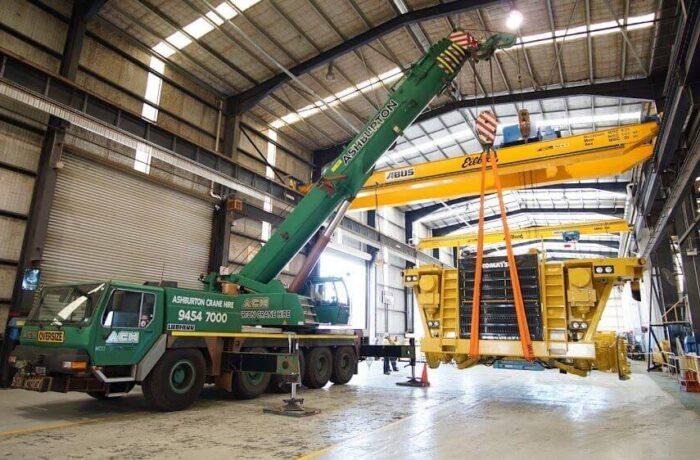 100T Crane Hire Perth, 100 T Liebherr Crane Hire Perth WA