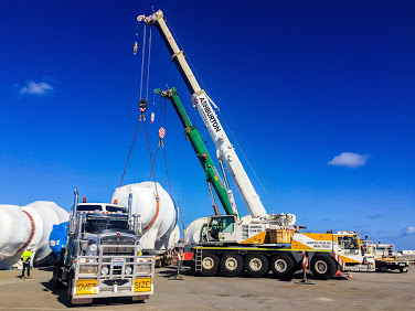 Photo of Perth cranes for hire