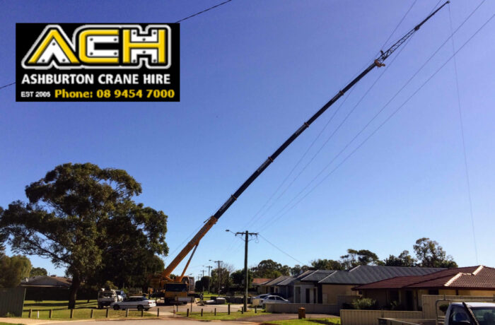 Long Reach Crane Hire Perth, WA