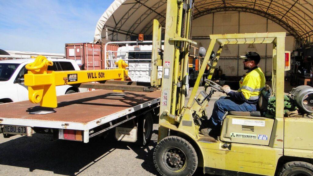Forklift pallet loading Perth