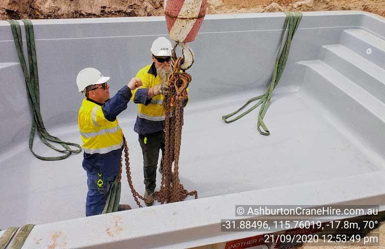 New swimming pool installation Perth